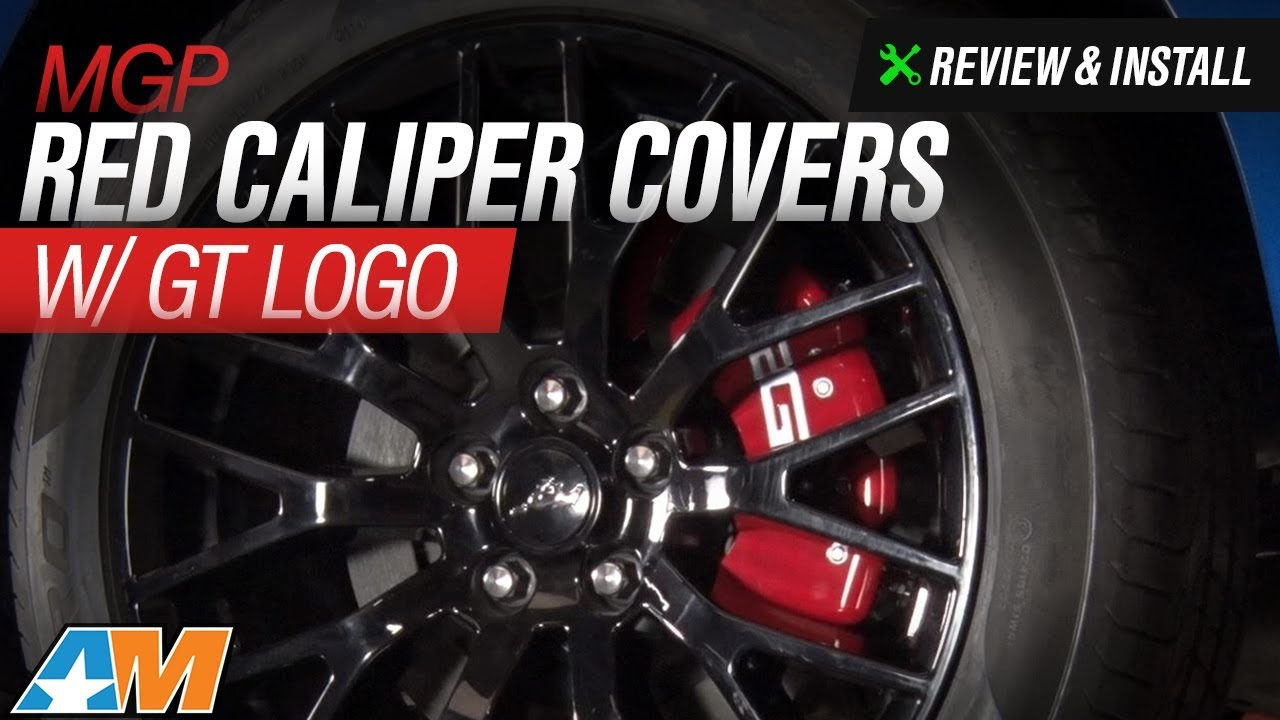 2015 2017 Mustang Mgp Red Caliper Covers W Gt Logo Review