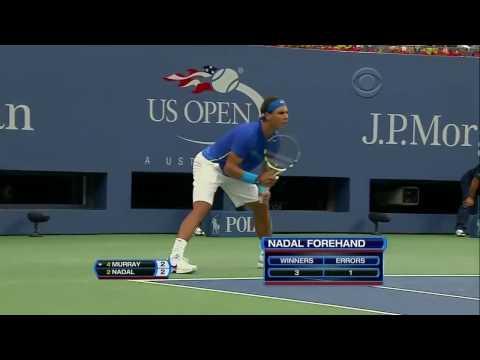 Rafael Nadal vs Andy Murray Us Open 2011 SF Highlights HD