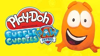 Bubble Guppies Play Doh Surprise Egg and Paw Patrol Toys Surprise Egg by KidCity