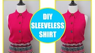 CONVERT LONG SLEEVE BLOUSE INTO SHORT SLEEVES