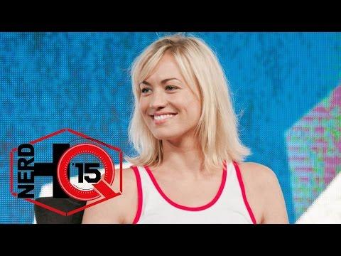 Yvonne Strahovski Panel - Nerd HQ: Comic-Con 2015