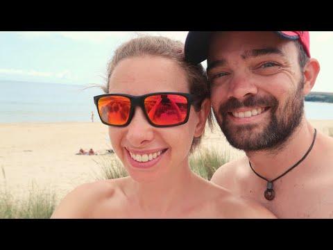 Nudist Beach Adventure | #FreeTheNipple #NudistBeach | UK VLOG 4