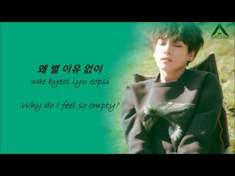 Jungkook - Half Moon (cover) lyrics [Eng,Han & Rom]