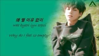 Jungkook - Half Moon (cover) lyrics [Eng,Han & Rom]