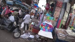 464. Вечерний рынок Мумбаи. Вада пау булка в булке. Индия.