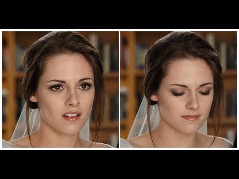 Bella Swan Real Movie Wedding Makeup Tutorial Twilight Saga