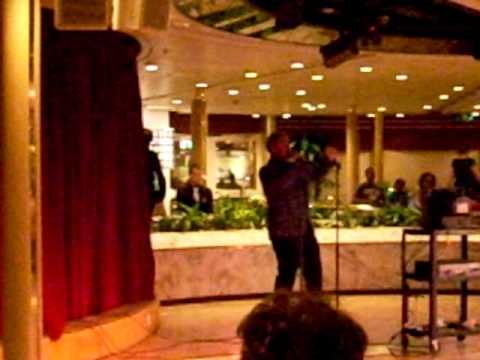 """Monarch of the Seas Cruise Ship """"Life is a Highway"""" karaoke June 28, 2009"""