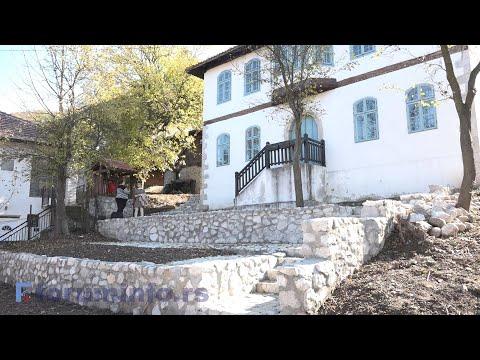 Rekonstrukcija dvorišta kuće Jusufagića - YouTube