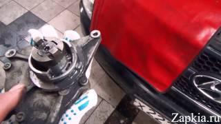 Замена вакуумного насоса Hyundai Grand Starex H1