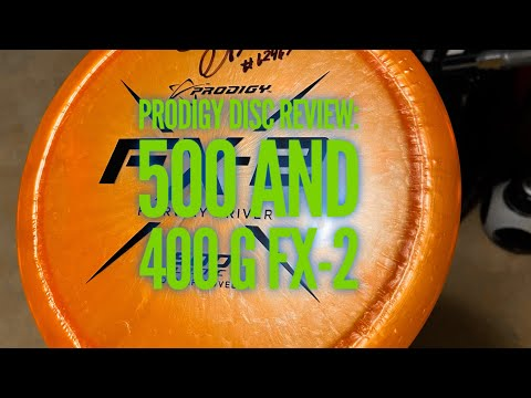 Prodigy Disc review:  New FX-2 Fairway