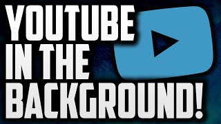 How To Play YouTube Videos In The Background Of Your Phone! (Android)(Today I am going to be showing you how to play / watch YouTube videos in the background of your phone or Android device! Using the app Audiopocket, you ..., 2016-01-17T11:30:01.000Z)