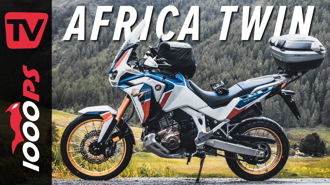 Genug Power für die Reise zu zweit? Honda Africa Twin 1100 Adventure Sports - Test mit Sozius