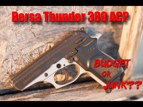 Quality time with the Bersa Thunder 380 [Gun Review]