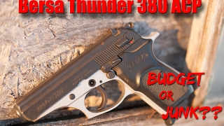Bersa Thunder 380 Full Review: $200 Concealed Carry Option?