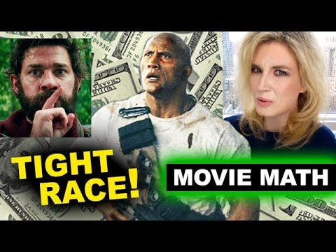 Box Office for Rampage, A Quiet Place, Truth or Dare