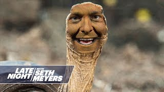 Seth Meyers Interviews Diego, the Tortoise Who Saved His Species from Extinction