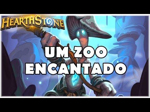 HEARTHSTONE - UM ZOO ENCANTADO! (STANDARD ZOO WARLOCK)