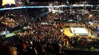 Wwe smackdown opening pyro live ontario California  2/16/16