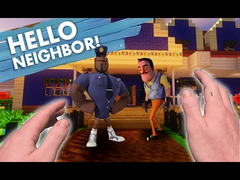 Thumbnail: Realistic Minecraft: Hello Neighbor - CALLING THE COPS!