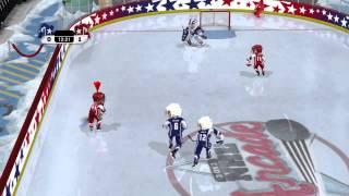 3 on 3 NHL Arcade Gameplay  —  XBox 360 {60 FPS}