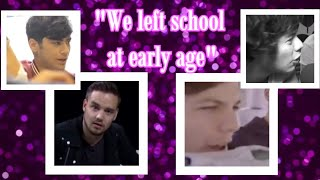 10 times One Direction proved they left school at early age