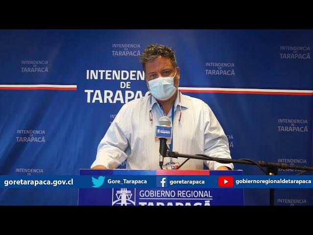 Punto de prensa 30 de marzo de 2021 - GORE Tarapacá