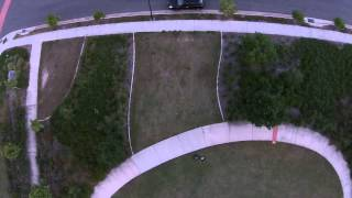 DJI Phantom 2 Vision Plus testing follow Me option
