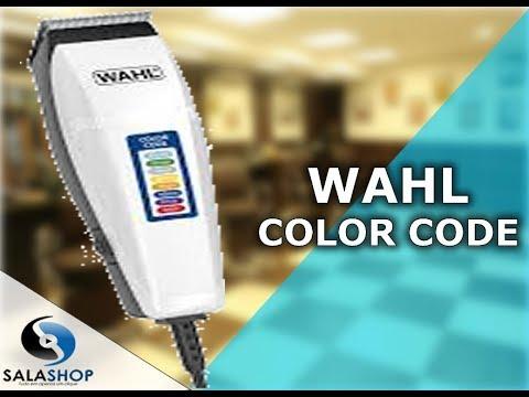 30d6b39e0 Unboxing Apresentação Máquina de Cortar Cabelo Wahl Color Code - Pentes  Coloridos