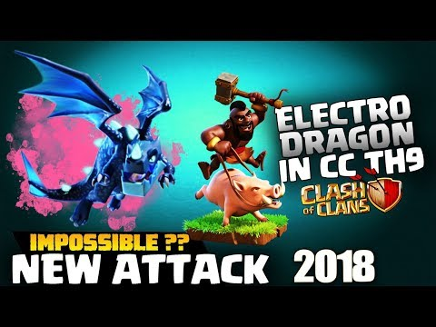 Th9 Electro Drag In Clan Castle - GoVaHo - Th9 GoHo - GoWiWi - Th9 New Attack Coc