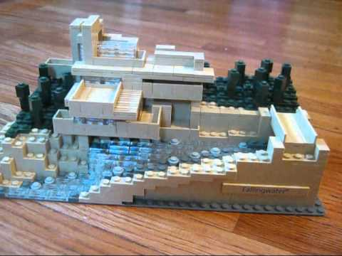 Lego architecture 21005 fallingwater review youtube - Falling waters lego ...