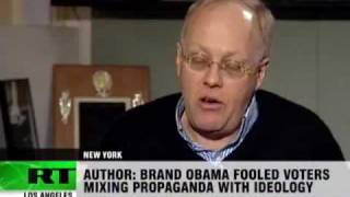 Chris Hedges - Obama Functions as an Advertising Brand in the Same Way as Products