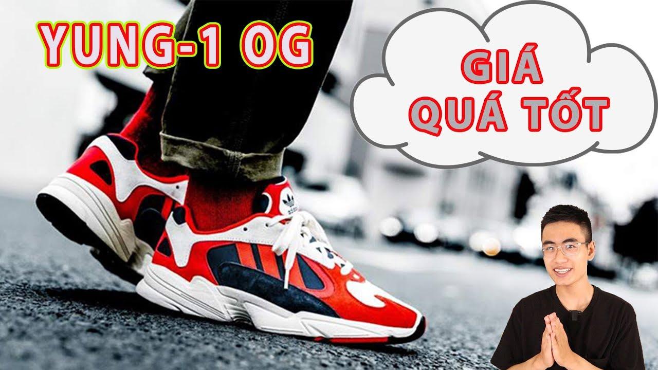 Thời điểm tốt để sở hữu adidas yung1 og, phối màu cực cháy !