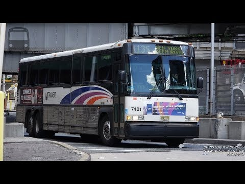 PORT AUTHORITY JERSEY CRUISER BUS PARADE PART 1 OF 2