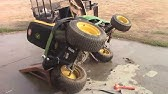 John Deere seat saftey byp - YouTube on