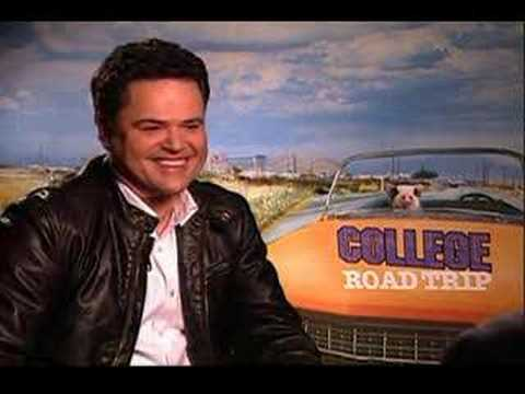 Donny Osmond interview for College Road Trip
