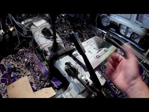 ВАЗ-2107 ПЕРЕДЕЛКИ перенос рукоятки кпп и ручника