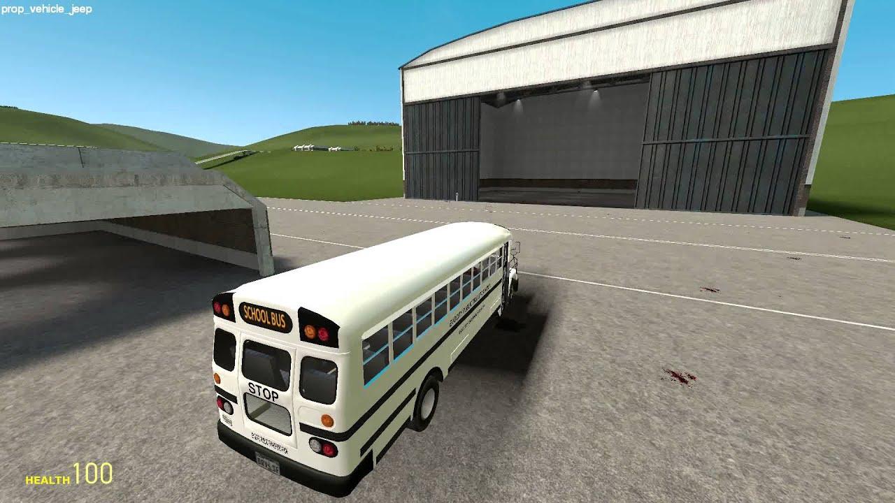 Скачать гаррис мод 10 мод на автобусы