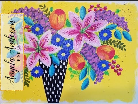 Vase Painting Ideas Simple