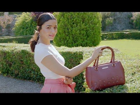 Bollywood Star Alia Bhatt In New Ad For Caprese Bags