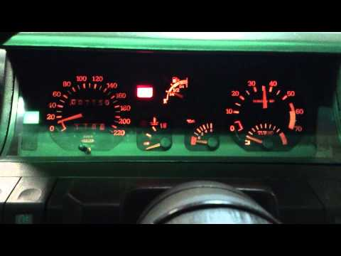 Renault Super 5 GT Turbo up to 7000 rpm