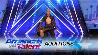 Junior & Emily Alabi: Sibling Duo Adds Modern Twist to Salsa Routine - America's Got Talent 2017