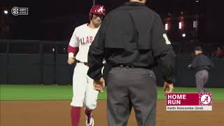 Alabama Baseball Defeats Ball State 7-1