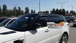 Ветровики Рендж Ровер Спорт 2 / Дефлекторы окон Range Rover Sport 2 / Тюнинг обзор / Бренд HIC