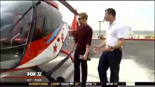 Chicago traffic inspires local man to take to the skies