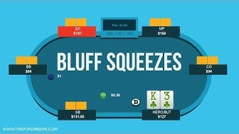 Bluff Squeezing Preflop | Poker Quick Plays