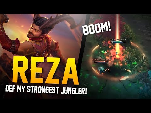 Vainglory YoloQ - Ep 48: MY STRONGEST JUNGLER!! Reza |CP| Jungle Gameplay