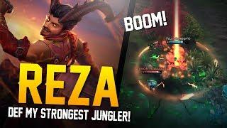 Vainglory YoloQ - Ep 48: MY STRONGEST JUNGLER!! Reza |CP| Jungle Gameplay