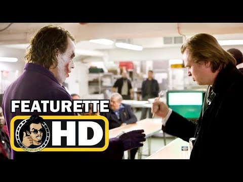 THE DARK KNIGHT (2008) - Christopher Nolan Talks Heath Ledger's Joker  FULL HD  Behind The Scenes