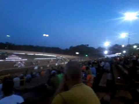 Sprint car feature at Lernerville Speedway... (Steel City Stampede) part 1