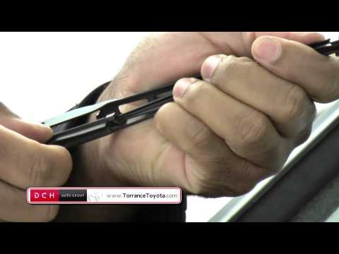 How to replace Wiper Inserts (Toyota)